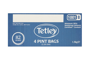 Tetley 4 Pint Tea Bags x82