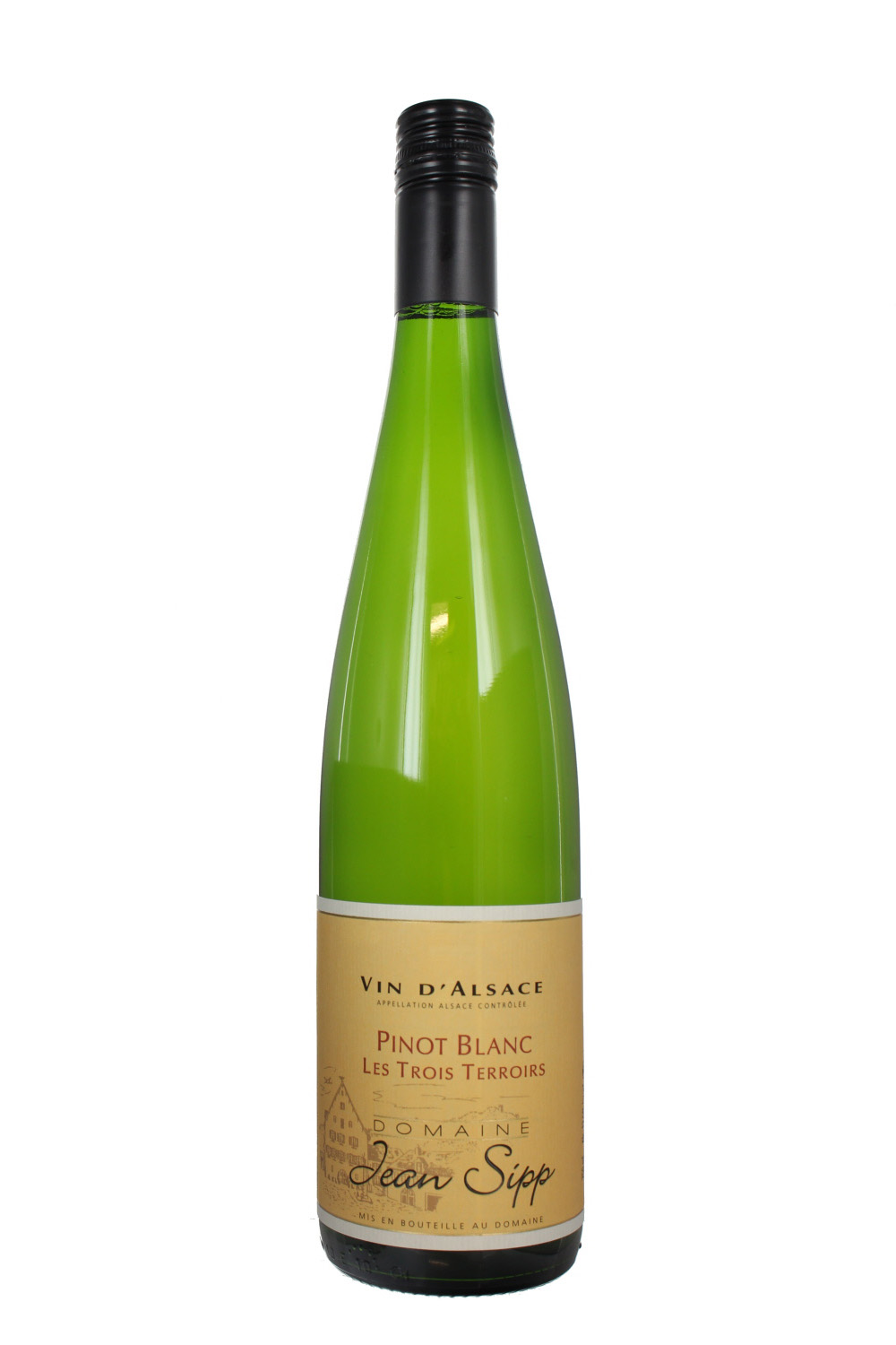2017 Pinot Blanc, Trois Terroirs, Domaine Jean Sipp, Alsace, France (Case)