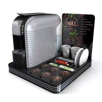 Wave Capsule Coffee Machine Package With Room Tray