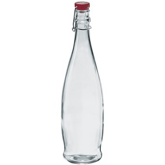 Indro Bottle With Red Lid - 1ltr