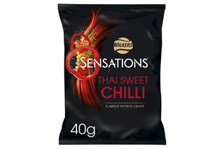 Walkers Sensations Thai Sweet Chilli Crisps 40g