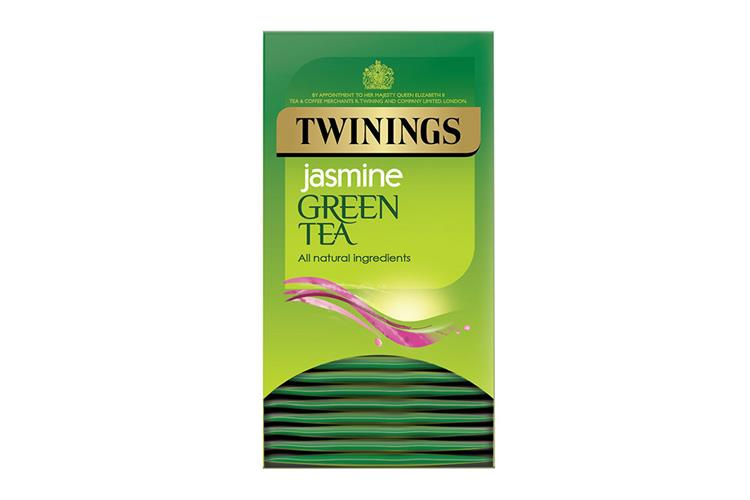 Twinings Green Tea with Jasmine Envelope Tagged Teabags
