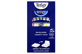 Tetley Enveloped Variety Pack Tea Bags x4 162.5g