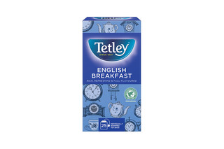 Tetley English Breakfast String & Tag envelope
