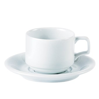 Porcelite 200ml Stacking Cup