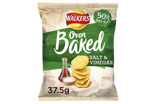 Walkers Baked Salt & Vinegar Snacks 37.5g