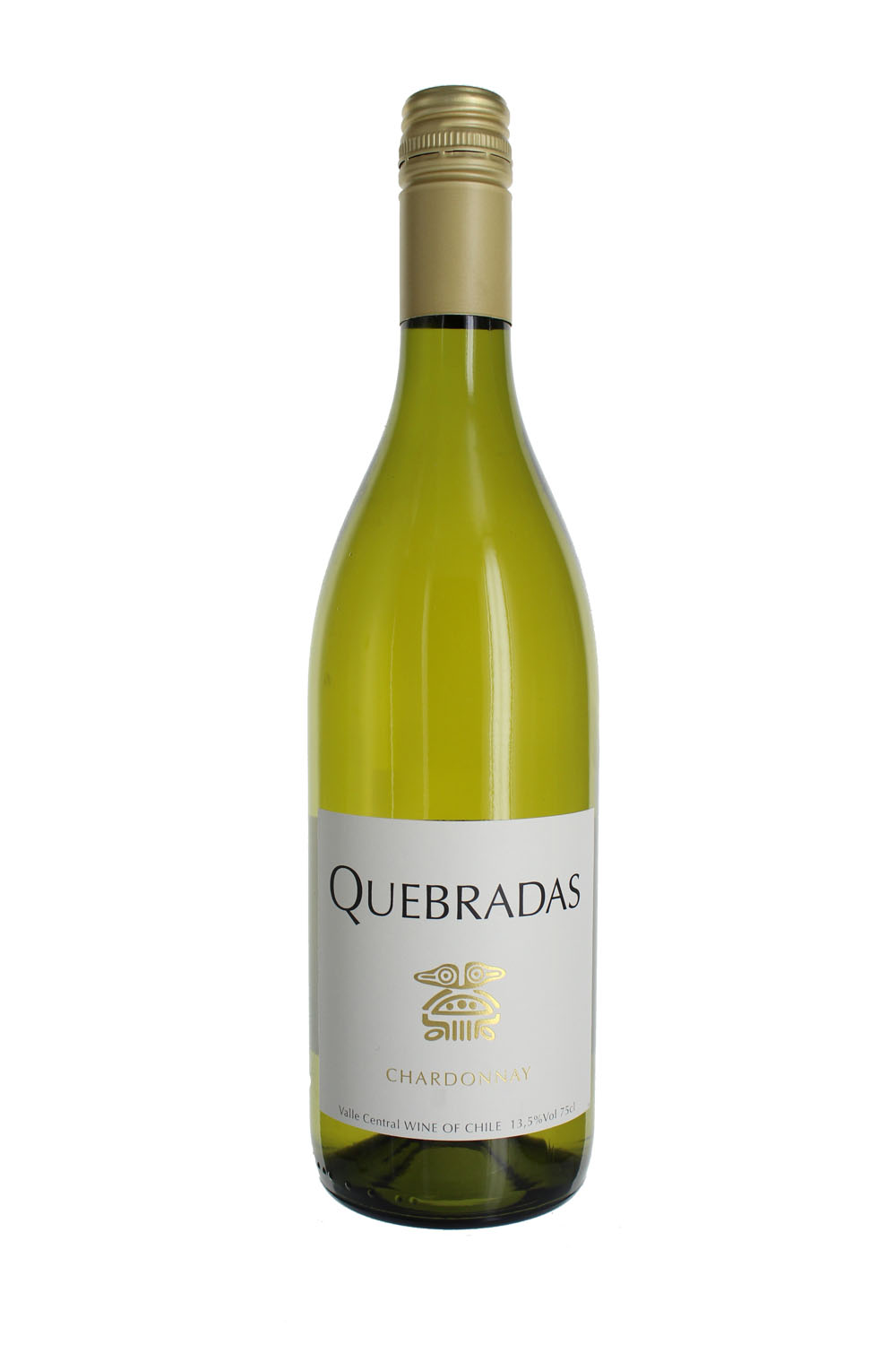 2017 Quebradas Chardonnay, Central Valley, Chile (Case)