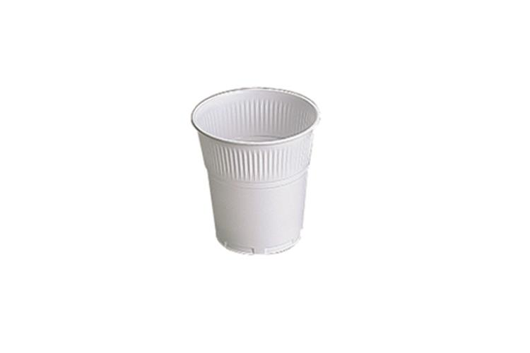 Squat White Plastic Vending Cups 7oz/200ml