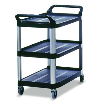 Rubbermaid X-tra Utility Cart 3 Tier Trolley