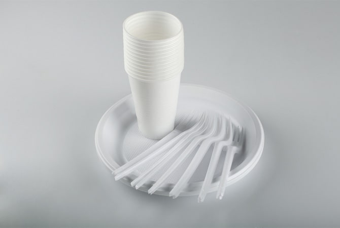 Disposable Plate & Napkin