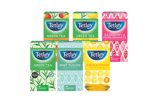 Tetley Fruit and herbal variety pack String & Tag envelope