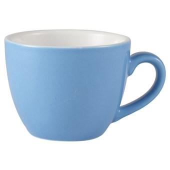 Blue Royal Genware Porcelain Bowl Shaped Cup - 250ml