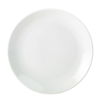 Royal Genware 18cm Porcelain Coupe Plate