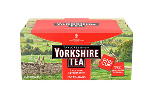 Taylors of Harrogate Yorkshire Tea 200 Tea Bags 500g