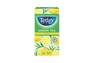 Tetley Green Tea & Lemon String & Tag envelope