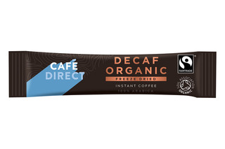 Cafedirect Fairtrade Decaf Smooth Instant Coffee Sticks