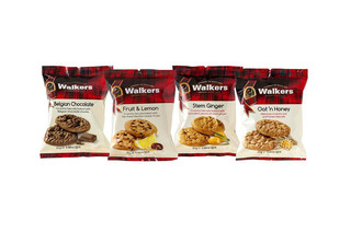 Walkers Chunky Belgian Chocolate Biscuits 25g