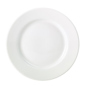 Royal Genware 26cm Porcelain Classic Winged Plate