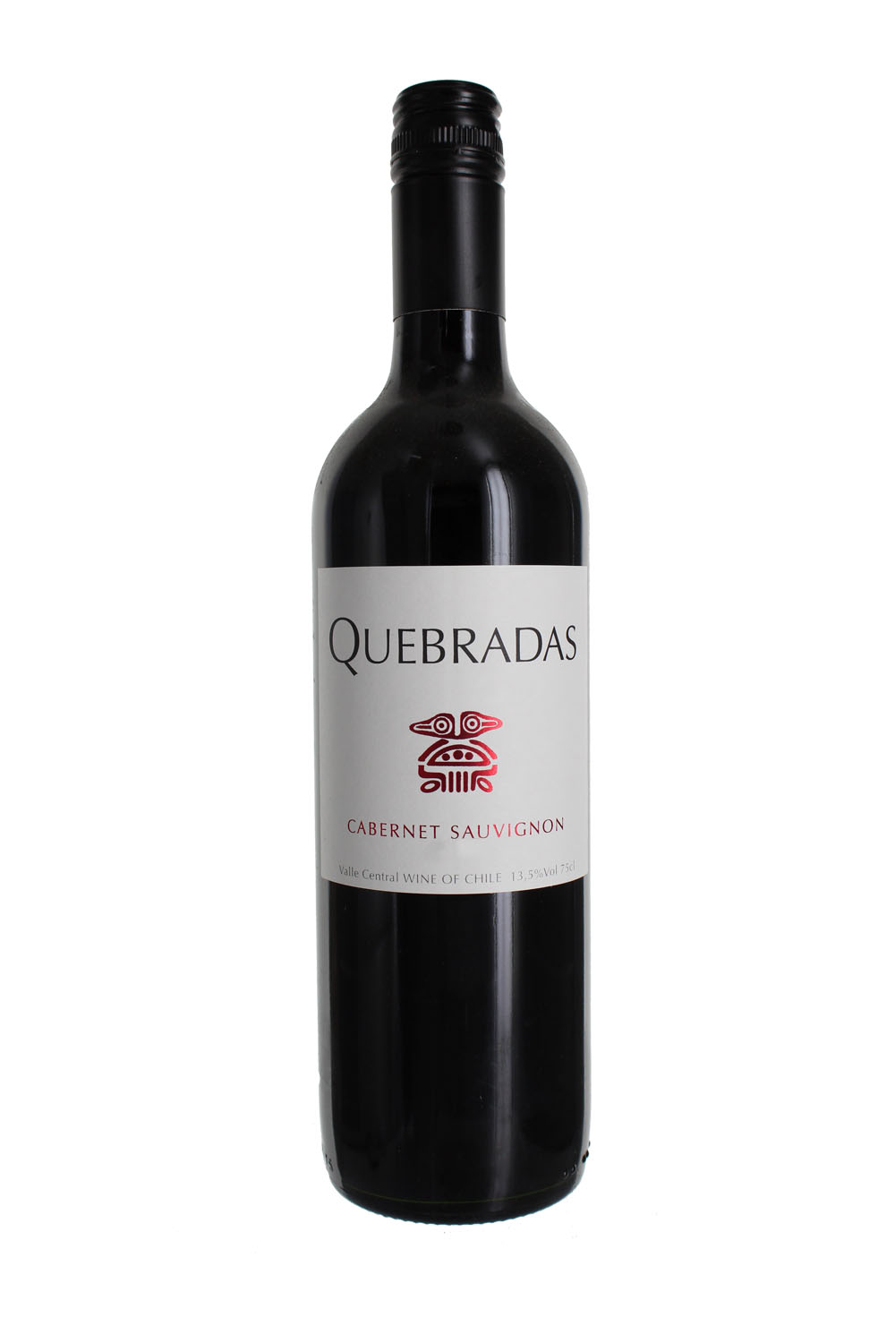 2017 Quebradas Merlot, Central Valley, Chile (Case)