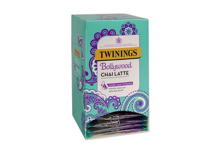 Twinings Bollywood Chai Latte Large Leaf Mesh Envelope Tagged