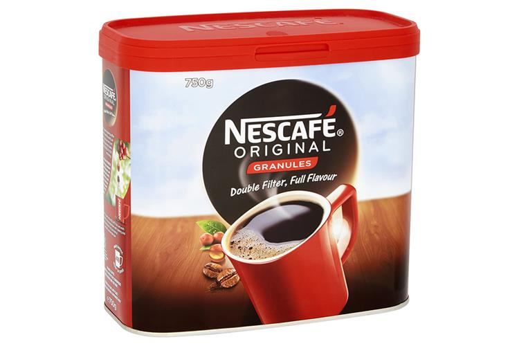 Nescafe Original Instant Coffee Granules Tin