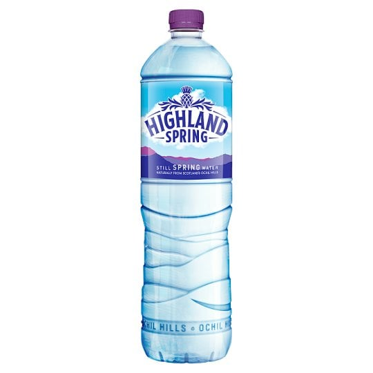 Still Mineral Water (1.5 litre bottle)