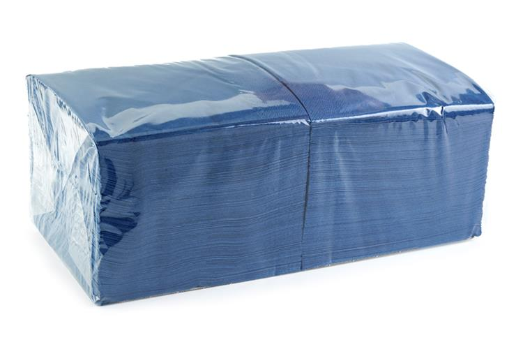 Catering Dark Blue 2 Ply Napkin 33cm