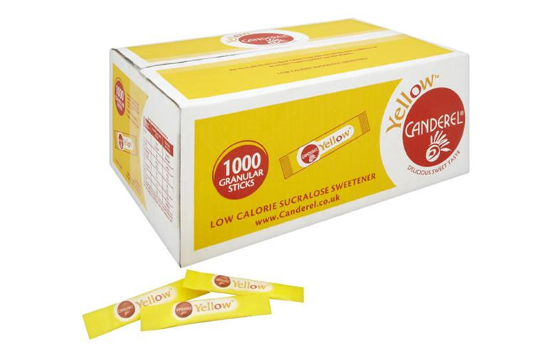 Canderel Yellow 1000 Tablet Sachets 85g