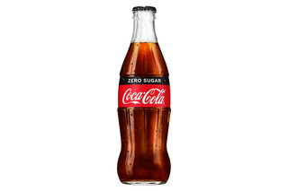 Coca-Cola Zero Glass Bottles 330ml