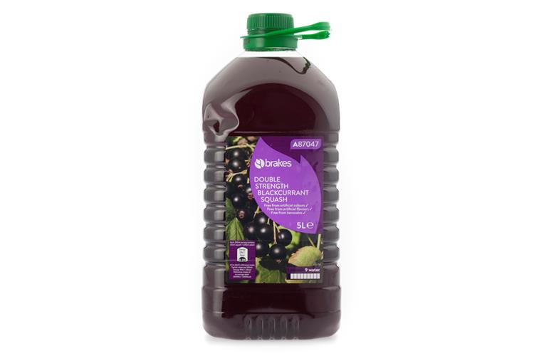 Double Strength Blackcurrant Squash