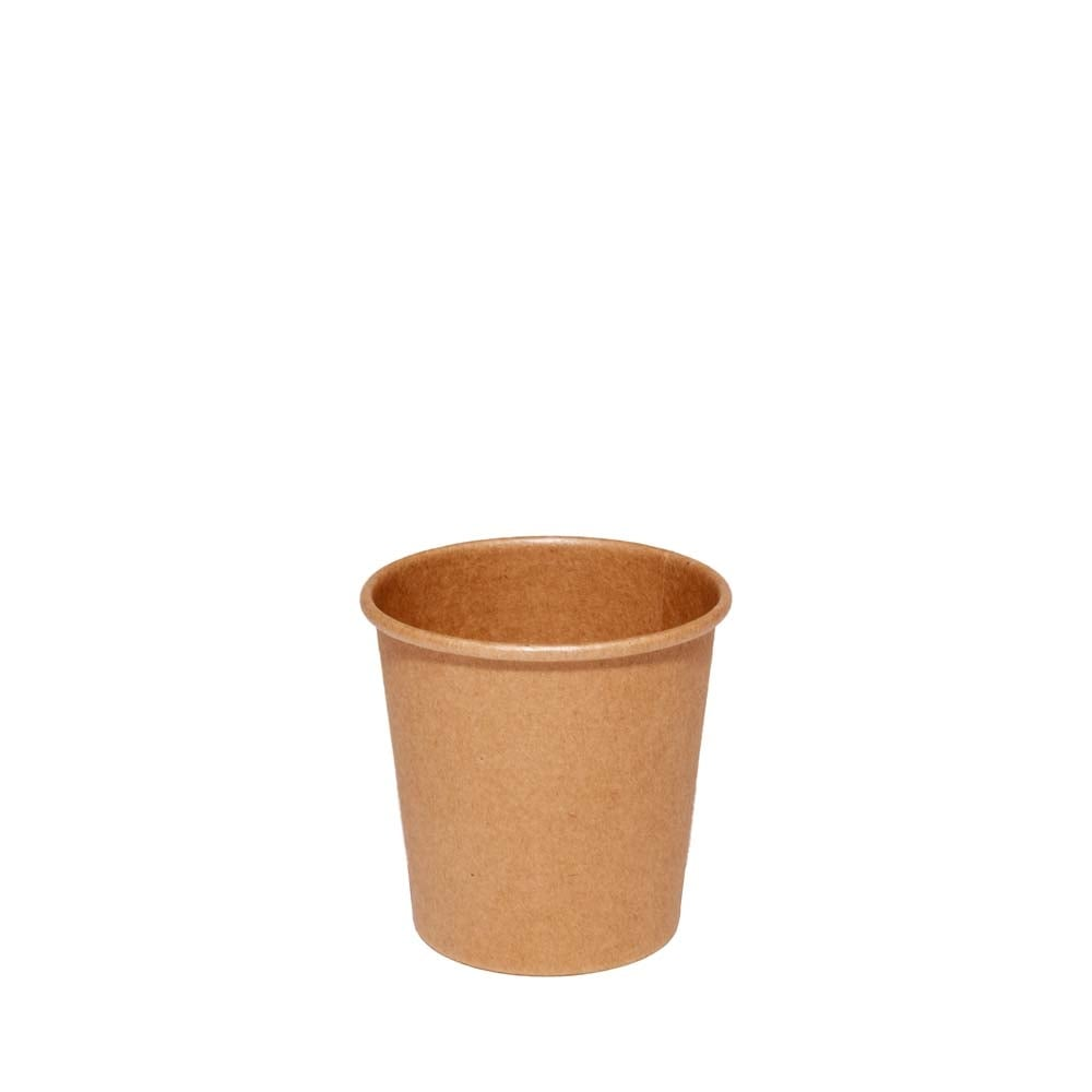 4oz Brown Paper Cup - Single Wall