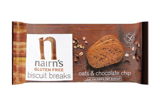 Nairns Gluten Free Oats & Chocolate Chip Biscuit