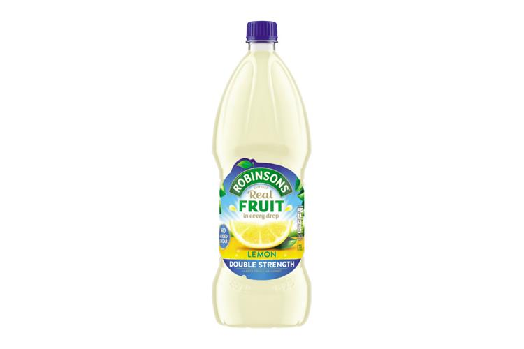 Robinsons Double Concentrate Lemon Squash (No Added Sugar)