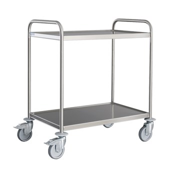 Small 2 Tier General Purpose Trolley